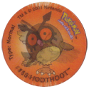 Tazos > Walkers > Pokémon 13-#164-Noctowl.