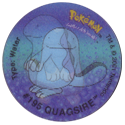 Tazos > Walkers > Pokémon 16-#195-Quagsire.