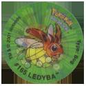Tazos > Walkers > Pokémon 18-#165-Ledyba.