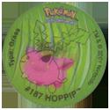 Tazos > Walkers > Pokémon 20-#187-Hoppip.