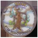 Tazos > Walkers > Pokémon 21-#185-Sudowoodo.