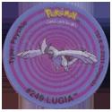 Tazos > Walkers > Pokémon 23-#249-Lugia.