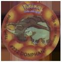Tazos > Walkers > Pokémon 25-#232-Donphan.