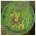 Tazos > Walkers > Pokémon 26-#154-Meganium.