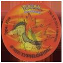 Tazos > Walkers > Pokémon 27-#157-Typhlosion.
