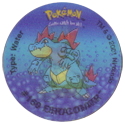 Tazos > Walkers > Pokémon 28-#160-Feraligatr.