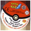 Tazos > Walkers > Pokémon 31-#189-Jumpluff.