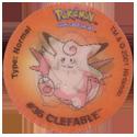 Tazos > Walkers > Pokémon 32-#173-Cleffa.