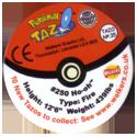 Tazos > Walkers > Pokémon 35-#250-Ho-oh-(back).