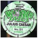 Tazos > Walkers > World Tazos Back.