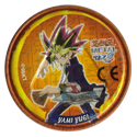Tazos > Yu-Gi-Oh! Metal Tazos 006-Back-(Yami-Yugi).