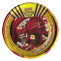 Tazos > Yu-Gi-Oh! Metal Tazos 104-Slifer-The-Sky-Dragon.
