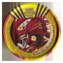 Tazos > Yu-Gi-Oh! Metal Tazos 104-Slifer-The-Sky-Dragon.