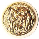 Universal Flip-Caps Association > Power Rangers 009-Sabretooth-Tiger-Power-Coin.