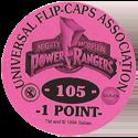 Universal Flip-Caps Association > Power Rangers Back-1-point-purple.
