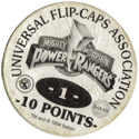 Universal Flip-Caps Association > Power Rangers Back-10-points-white.