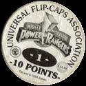 Universal Flip-Caps Association > Power Rangers Back-10-points-white.