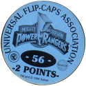Universal Flip-Caps Association > Power Rangers Back-2-points-blue.