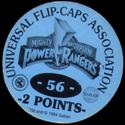 Universal Flip-Caps Association > Power Rangers Back-2-points-blue.