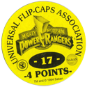 Universal Flip-Caps Association > Power Rangers Back-4-points-yellow.