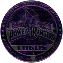 Universal Flip-Caps Association > Power Rangers Slammers Purple-Logos.