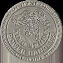 Universal Flip-Caps Association > Power Rangers Slammers Silver-King-Sphinx.