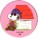 Unknown > Peanuts (numbered) 45-Snoopy.