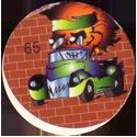 Unknown > Skulls & 8-balls in cars 65-Orange-head-in-car.