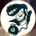 Unknown > Skulls etc same style shiny Elvis-skull-Green.