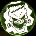 Unknown > Skulls etc same style shiny Frankenskull-green.