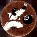 Unknown > Skulls etc same style shiny Ninja-and-8-ball-bomb-Bronze-and-black.