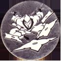 Unknown > Skulls etc same style shiny Ninja-throwing-shuriken-Silver-and-black.