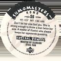 Upper Deck > Sumo Dudes S S06-Kono-(back).