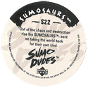 Upper Deck > Sumo Dudes S S22-(back).
