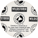 Upper Deck > WildStorm Productions Back.