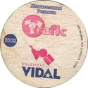 Vidal Golosinas > Traffic 20-Жевательная-Резинка-(back).