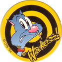 Wackers! > Flair Collector > Série Jaune 02-Cat-eating-mouse.