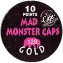 World Caps Federation > Mad Monster Caps > 124-138 Gold Back.