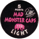 World Caps Federation > Mad Monster Caps > 114-123 Light Back.