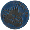 World Caps Federation > Slammers (number in circle) 22-(black-plastic).