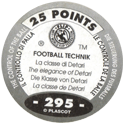 World Flip Federation > Football Technik (Foil) 295-The-Control-Of-The-Ball---The-elegance-of-Detari-(back).