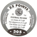 World Flip Federation > Football Technik (Foil) 305-The-Dribbling-The-elegance-of-Cruijff-(back).