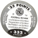 World Flip Federation > Football Technik (Foil) 332-The-Right-Foot---The-precision-of-Schillaci-(back).