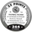 World Flip Federation > Football Technik (Foil) 364-The-Acrobatics---Stunts-by-Altobelli-(back).