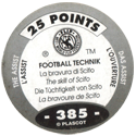 World Flip Federation > Football Technik (Foil) 385-The-Assist---The-skill-of-Scifo-(back).