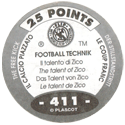 World Flip Federation > Football Technik (Foil) 411-The-Free-Kick---The-talent-of-Zico-(back).
