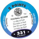 World Flip Federation > Football Technik 331-The-Right-Foot---The-style-of-Platt-(back).