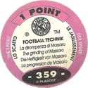World Flip Federation > Football Technik 359-The-Sprint---The-grinding-of-Massaro-(back).