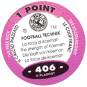 World Flip Federation > Football Technik 406-The-Free-Kick---The-strength-of-Koeman-(back).