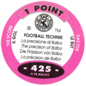 World Flip Federation > Football Technik 425-The-Score---The-precision-of-Balbo-(back).